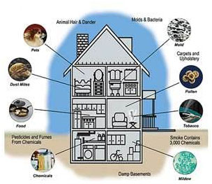 Indoor Air Quality Diagram