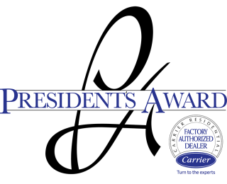 carrier dealer president's award