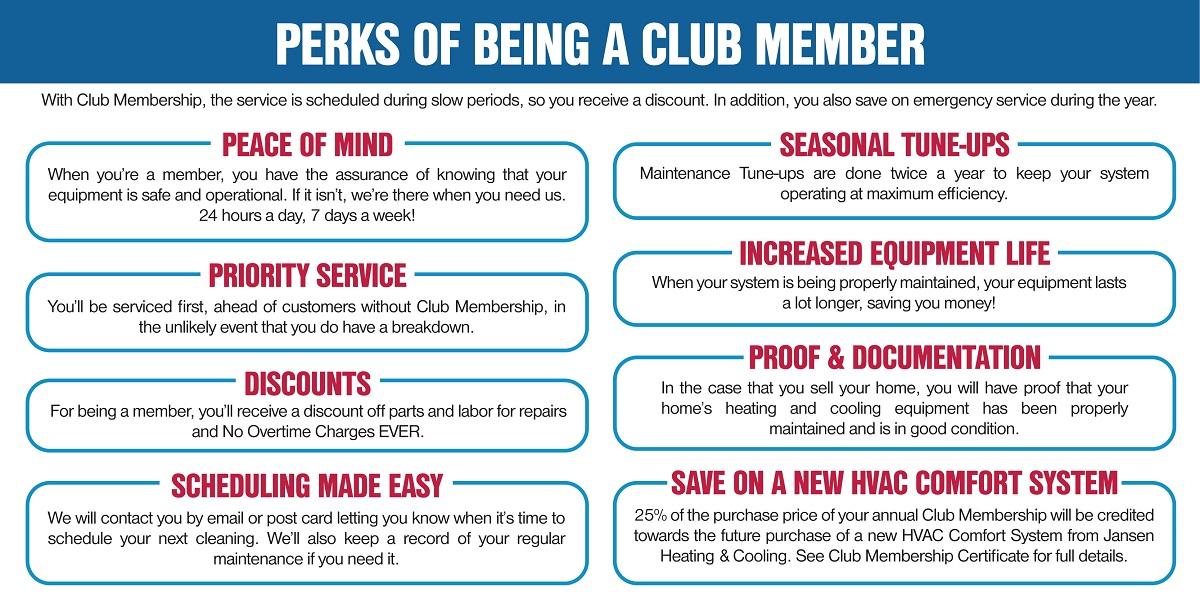 maintenance club hvac perks